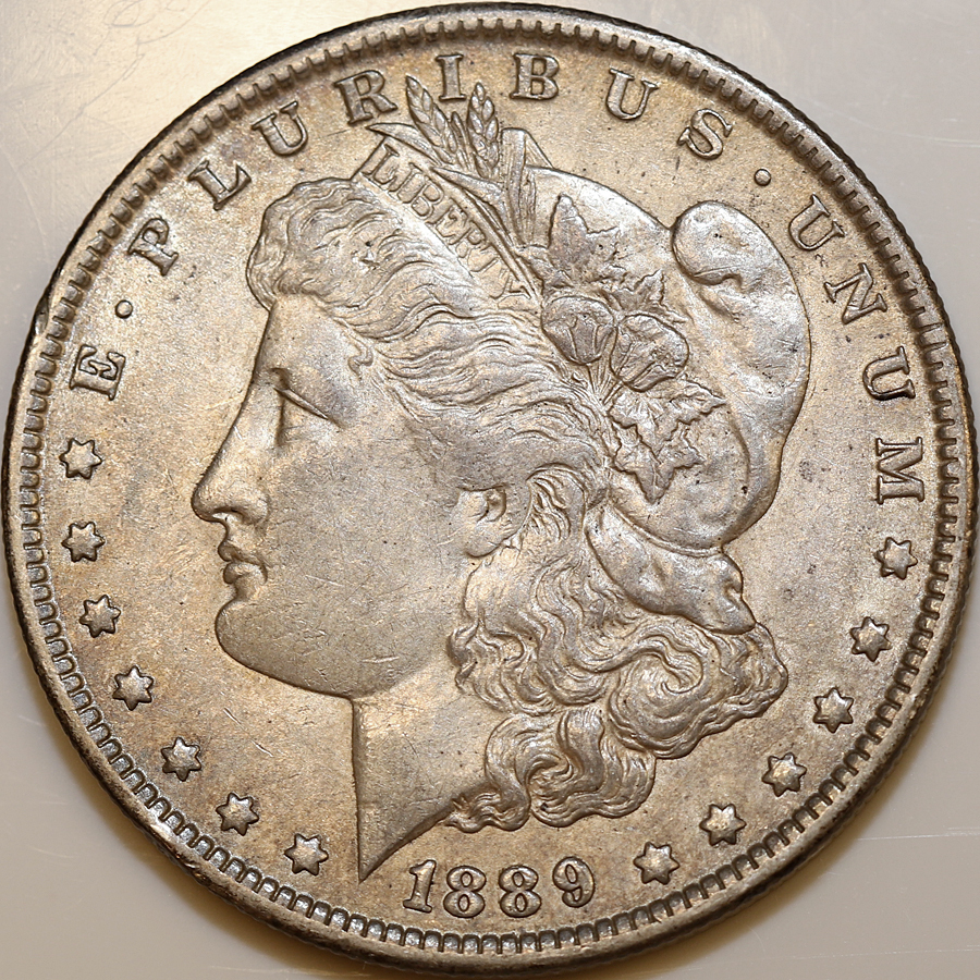 GREAT PRICE! 1886-P MORGAN DOLLAR CHOICE ALMOST UNCIRCULATED