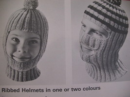 Beehive Winter Headwear Knitting Patterns Family Hats Caps image 3