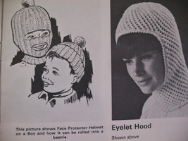 Beehive Winter Headwear Knitting Patterns Family Hats Caps image 4