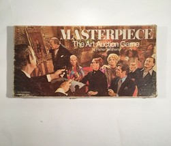 Vintage Board Game 1970s Masterpiece the Art Auction Game - $47.45