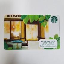 Limited Edition 2015 Starbucks Store Front Patio Scene Gift Card Zero $ ... - $8.00