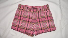 Gapkids plaid shorts size 12 regular - $7.00
