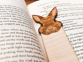 Engraved Rabbit Bookmark - $10.00