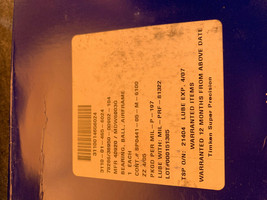 Timken Airframe Ball Bearing MDW6003G Super Precision 3110-01-465-6024 Sealed image 1