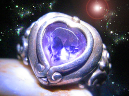 HAUNTED RING MASTER WITCH YOU HAVE A WITCH'S HEART & STRENGTH WISH OOAK ... - $9,117.77
