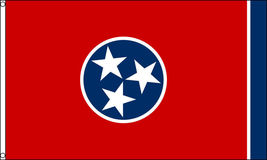 2x3 Tennessee Flag 2'x3' House Banner grommets super polyester - $18.00