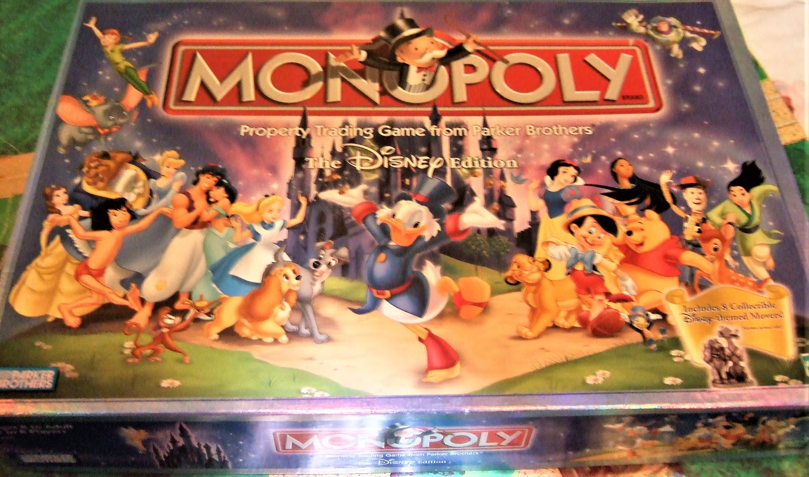 Monopoly - Property Trading Game From Parker Brothers - The Disney Edition  2001 image 4