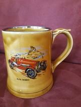 1924 Alfa Romeo Vintage 1960's RK Wade England Large Mug Stein Tankard Auto - $14.84