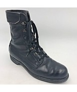 Vintage 1978 Addison Shoe Co Combat Jump Boots size 10.5C US Military 74... - $49.95