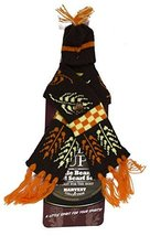 Bundle Up Festive Fall Bottle Beanie & Scarf Set (Brown) - $5.89