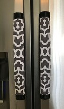 Refrigerator Door Handle Covers Set of Two Gray Theme 13L X 4.5W - $12.99