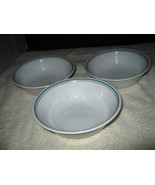 """(3) Corelle by Corning """"Rosemarie Country Cottage""""Cereal Soup Bowls 6 1/4"""" - $6.00"""