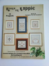 KOUNT ON KAPPIE Samplers For All Occasions Charted Leaflet Vintage1985 - $9.89