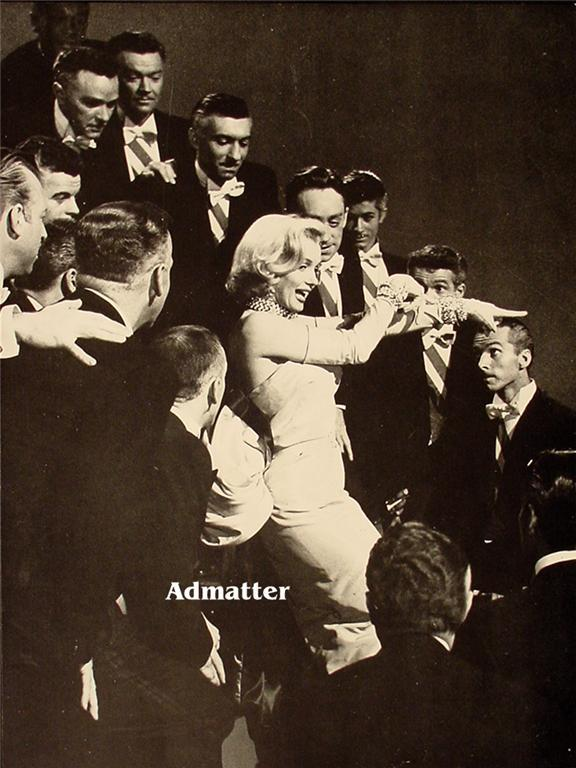 Marilyn Monroe Vintage Double-sided Pin-up poster print