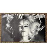 2 Vintage Marilyn Monroe Posters Sexy Film Photos - $9.28