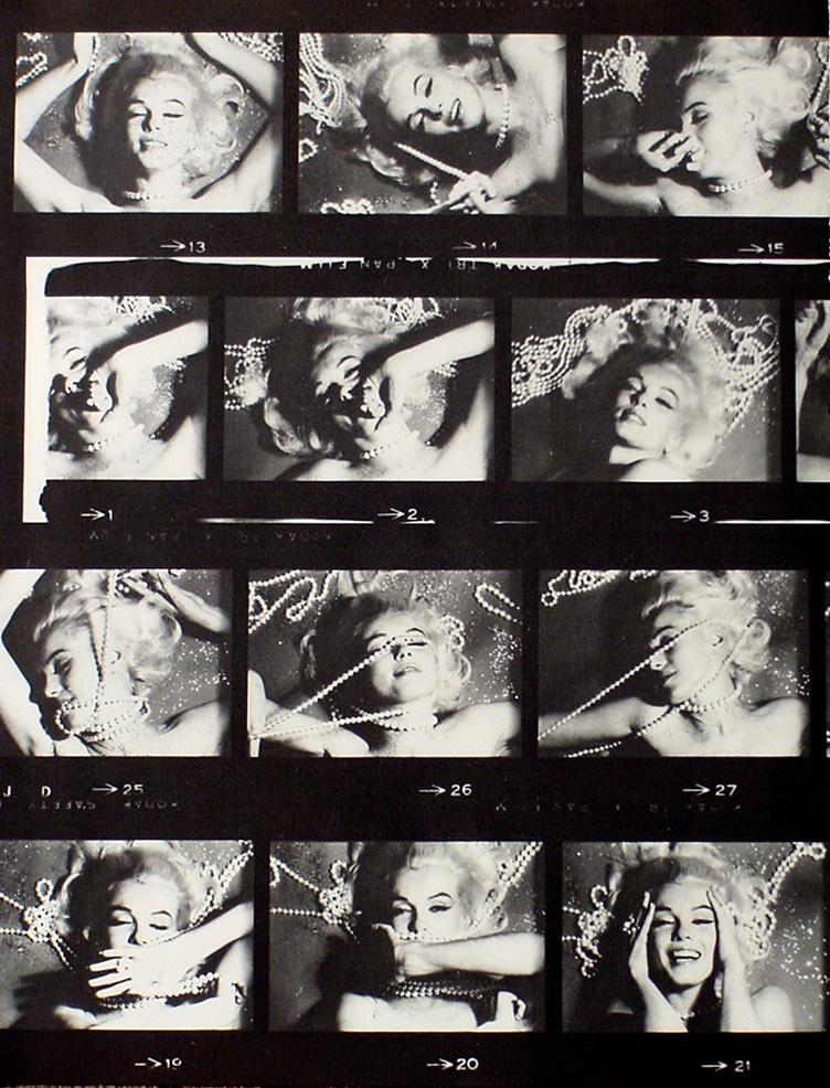 2 Vintage Marilyn Monroe Posters Sexy Film Photos image 4