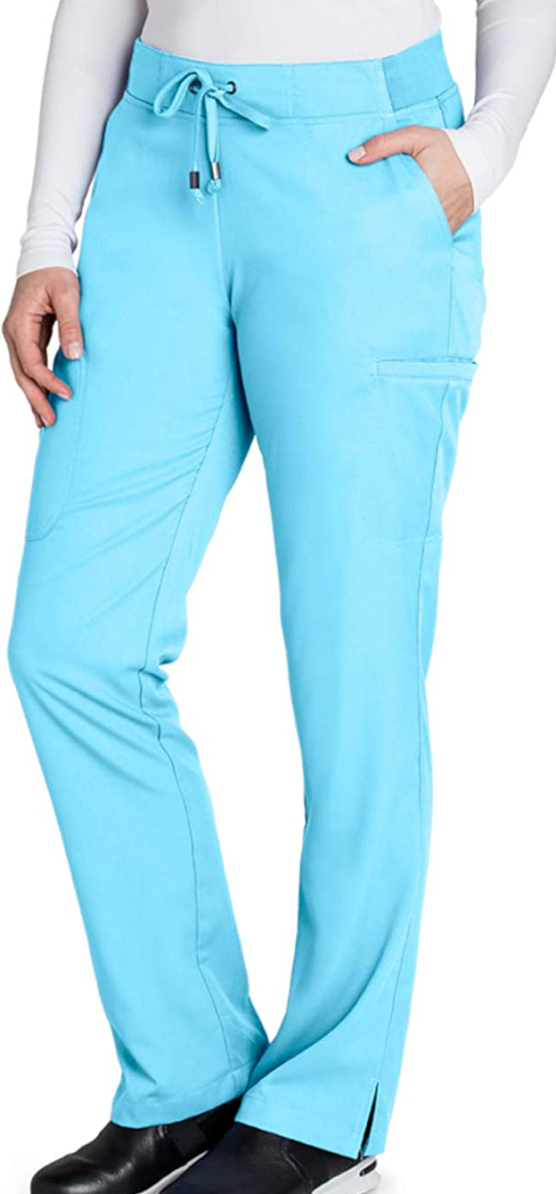 Grey's Anatomy 6-Pocket Flat Front Cargo Pant for Women Medical Scrub 5xl - $17.64