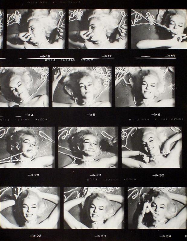 Marilyn Monroe 10X12 Pinup Poster Sexy Film Strip photo