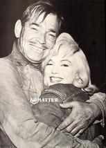 Marilyn Monroe Clark Gable Pinup Poster Misfits Photo image 1