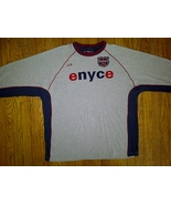 Enyce Hip Hop Urban Gray Grey Blue Red Long Sleeve Tee T-Shirt XL Extra ... - $9.99