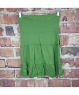 Fire Los Angeles Womens Skirt Size Medium Grass Nordstrom Stretch  - $19.80