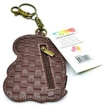 Chala Handbags Faux Leather Penguin Coin Purse Key Chain Fob Keychain image 2