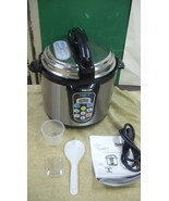 Mega Cocina Electric Pressure Cooker MCHGEPC4 - $50.00