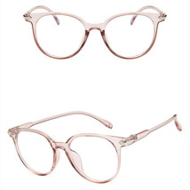 New Oval Fashion Classic Clear Lens Glasses Frame Retro Casual Daily Eye... - $7.99