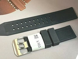 24MM SPORTS RUBBER WATCH BAND QUALITY CONSTRUCTION FIT LUMINOX - $21.04