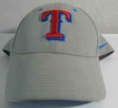 Nike Legacy 91 Dri Fit Texas Rangers Adjustable Gray Cap Hat - $19.80