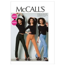 McCall Patterns M6610E50 Misses'/Miss Petite Jeans Sewing Pattern, Size E5 (14-1 - $15.68