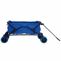 Impact Canopy Folding Utility Wagon, Collapsible All-Terrain Beach Wagon... - $121.34