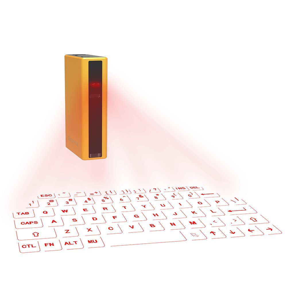 Virtual Keyboard, Portable Wireless Bluetooth Laser Projection Keyboard with ...
