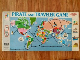 Vintage Pirate and Traveler Game Board Game 1970 Milton Bradley Complete - $25.00