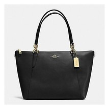 Authentic NWT COACH AVA TOTE IN CROSSGRAIN LEATHER F57526 Black Tote MSRP - $169.07