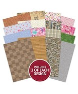 Hunkydory Adorable Scorable Patterns & Textures Collection A4 Sheets 350gsm - $25.90