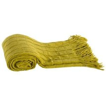 A&B Home T37667-GREE Acrylic Cashmere Throw, Green, 50 by 60-Inch - $49.49