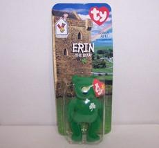 "McDonald's Introduced 1/31/98 TY Beanie Baby ""Erin"" The Irish Bear {3195} - $7.72"
