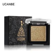 UCANBE Brand 8 Colors Single Metallic Eye Shadow Makeup Palette Nude Shi... - $4.30+