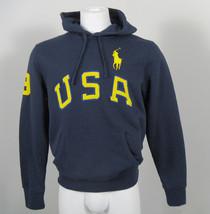 NEW Polo Ralph Lauren USA Big Pony Hoodie Sweatshirt! *7 Colors*  *Huge USA* - $69.99
