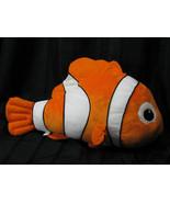 WALT DISNEY LAND WORLD STORE LARGE JUMBO BIG FINDING NEMO STUFFED FISH P... - $33.65