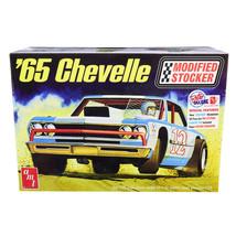 Skill 2 Model Kit 1965 Chevrolet Chevelle Modified Stocker 1/25 Scale Mo... - $56.42