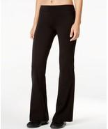 Ideology Performance Flex Stretch Bootcut Yoga Pants, Black, S - $18.27