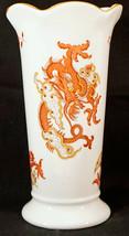 Crown Staffordshire Rangoon Dragon English Bone China Small Flower Vase - $24.99