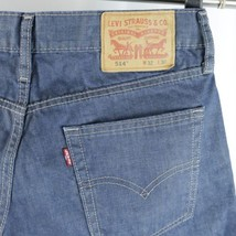 bff62bab Mens Levis 514 Blue Jeans Straight Leg 32x30 Actual 31x29 - £21.50 GBP