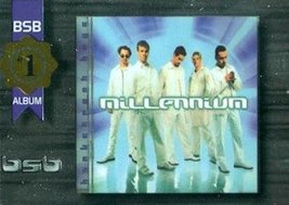 Backstreet Boys trading card (#1 Album/Song Millenium) 2000 Winterland #... - $4.00