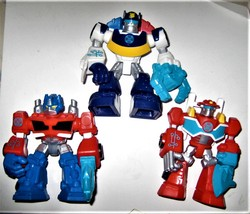 """Hasbro 3 Transformers Rescue Bots Heroes  3 3/4"""" ACTION FIGURE TOY - $13.75"""