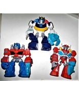 """Hasbro 3 Transformers Rescue Bots Heroes  3 3/4"""" ACTION FIGURE TOY - $14.00"""