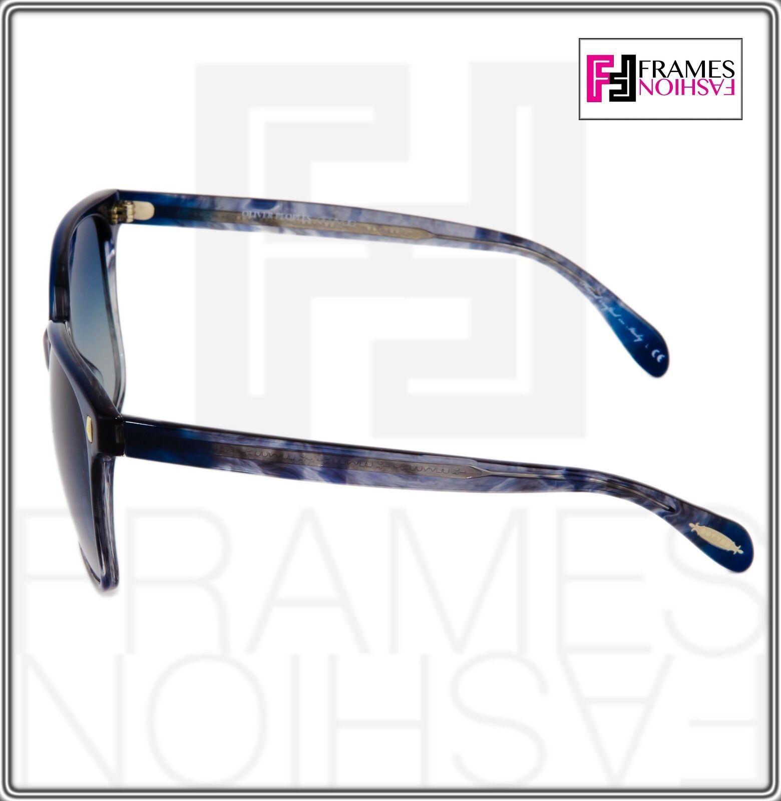 OLIVER PEOPLES MARMOT Square OV5266S Faded Sea Pacific Blue Sunglasses 5266 image 4