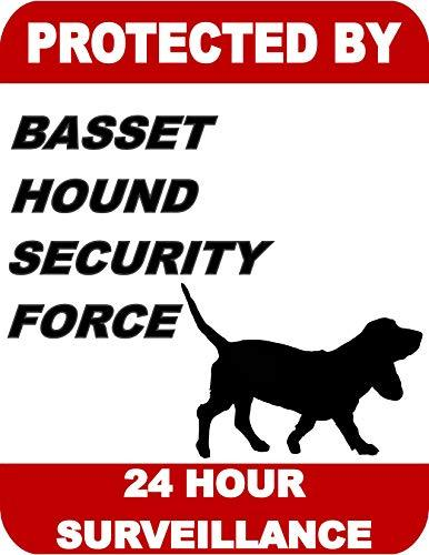 Primary image for Top Shelf Novelties Protected by Basset Hound Security Force 24 Hour Surveillanc